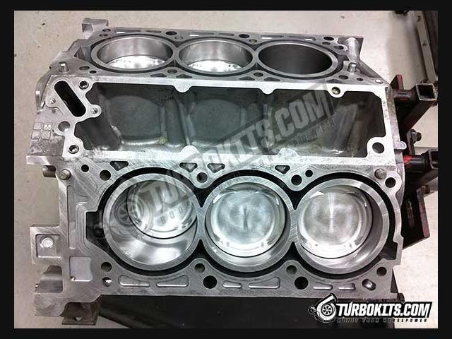 GC3.8L Stage II Short Block Engine   Hyundai Genesis ...