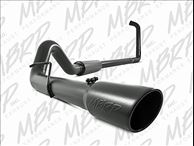 4 Inch Turbo Back Single Side Exit Off-Road - BLACK SERIES