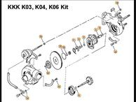 KKK Series Rebuild Kit