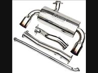 TurboXS Turbo Back Exhaust System