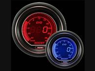 ProSport Evo Electrical Boost Gauge Red and Blue