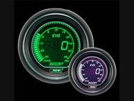 ProSport Evo Electrical Boost Gauge Green and White