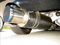 HKS 3in Carbon Ti Exhaust