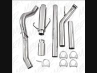 MBRP XP Series T304 S.S. 5 Inch Single Turbo back Exhaust 3rd Gen