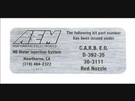 AEM 50 State Legal Water Injection for Diesel Trucks