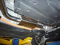 Black Label Fabrication CAT Back Exhaust