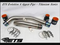 ETS EVO 10 Titanium Upper Intercooler Pipe Kit