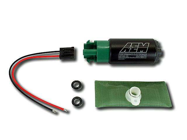 aem 320lph e85 compatible high flow in tank fuel pump 50 1215 50 1220 on sale. Black Bedroom Furniture Sets. Home Design Ideas