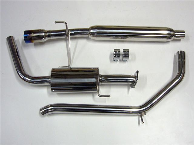 TurboKits com | Black Label Fabrication CAT Back Exhaust for