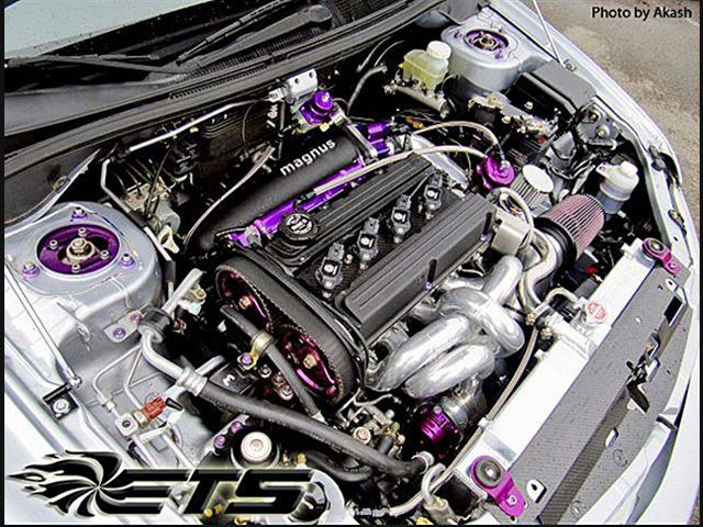 Ets Evo 8 9 Turbo Kit For 2003 2006 Mitsubishi Evo Viii