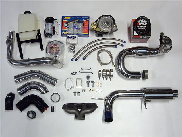 Toyota MR2 Spyder Turbo Kit | Black Label Fabrication Turbo