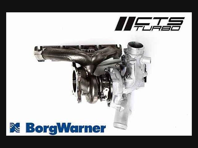 CTS B8 A4 2 0T BorgWarner K04 Turbo Upgrade Kit for 2008