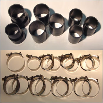 Silicone Couplers & TBolt Clamps